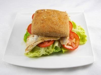 Fischburger - warmes Gericht, Rezept