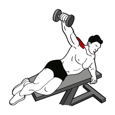 Seitheben in Seitenlage Übung - Richtige Ausführung