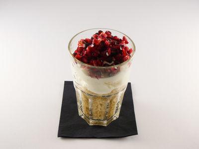 Quinoa mit Magerquark und Granatapfel - Frühstück, Rezept