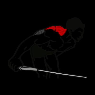 Reverse Flys einarmig Seilzug Übung - Richtige Ausführung