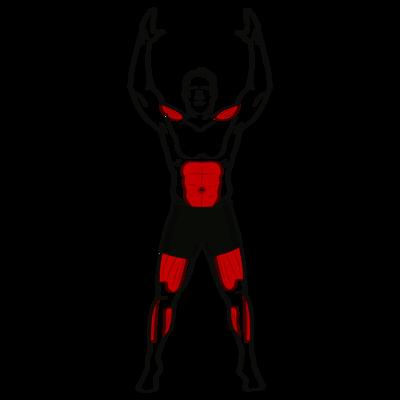 Hampelmann Übung - Richtige Ausführung