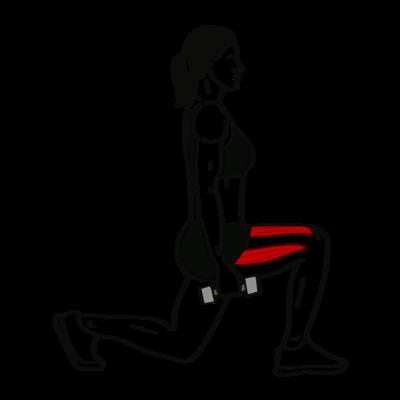 Ausfallschritt Übung - Richtige Ausführung