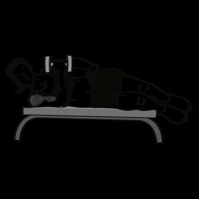 Innenrotation Kurzhantel Übung - Richtige Ausführung