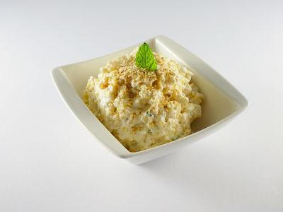 Hirse-Müsli mit Birne und Haselnuss - Frühstück, Rezept