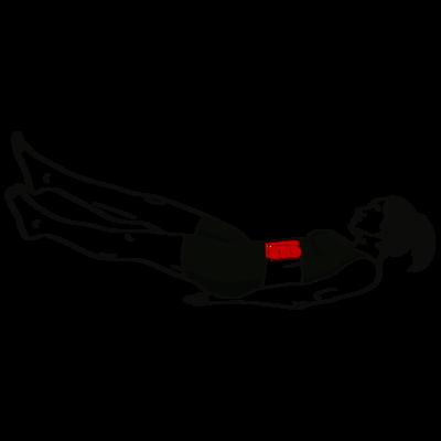 Beinscherencrunch Übung - Richtige Ausführung