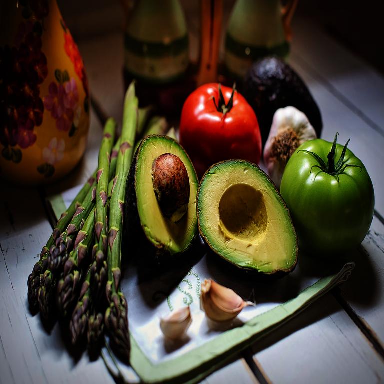 Allgemeines zu den Nahrungsmitteln - Avocado, Spargel, Tomate, Knoblauch