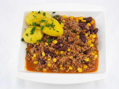 Chili con Carne - warmes Gericht, Rezept