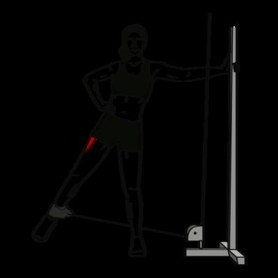 Beine spreizen Abduktoren Übung - Richtige Ausführung