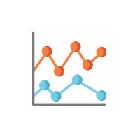 Diagramm als Symbol für Programme